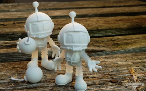 Atomic Bomberman Action Figures